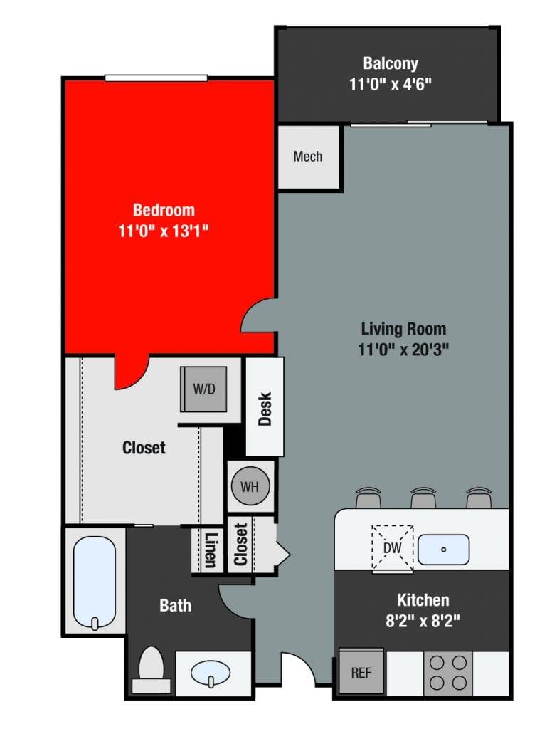 Apartments For Rent TGM NorthShore - Chestnut