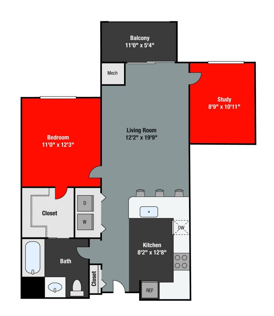 Apartments For Rent TGM NorthShore - Grand with study