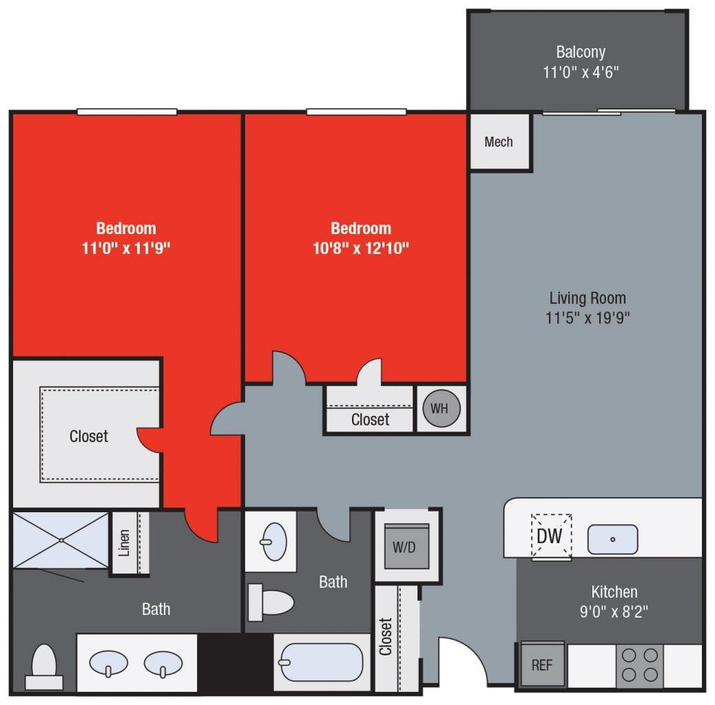Apartments For Rent TGM NorthShore - Lasalle