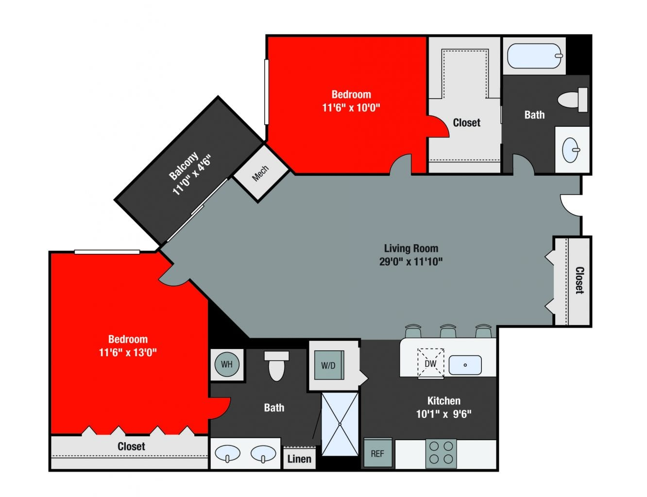 Apartments For Rent TGM NorthShore - Lawrence
