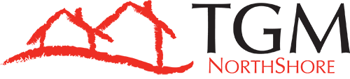 This image shows the logo of TGM NorthShore in Northbrook, IL.