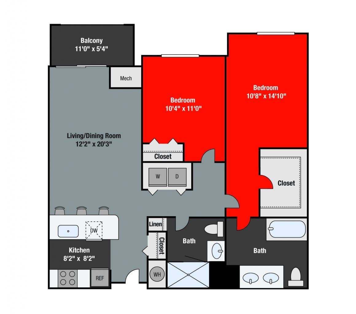 Apartments For Rent TGM NorthShore - Ogden