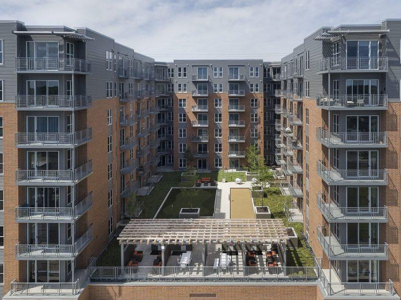 TGM NorthShore Apartments Aerial view