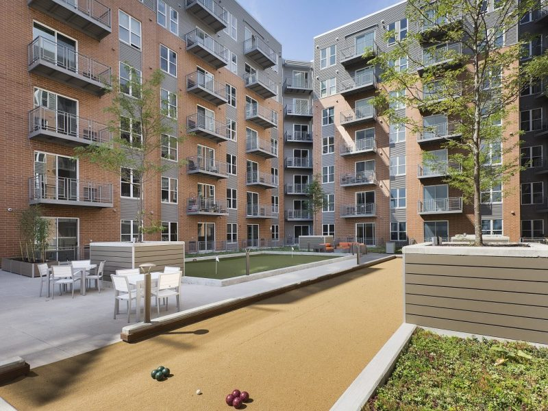 TGM NorthShore Apartments Bocce Ball Court