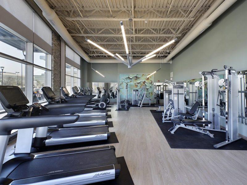 TGM NorthShore Apartments Fitness Gym 2