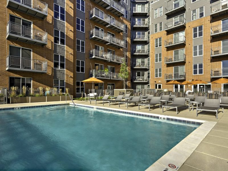 TGM NorthShore Apartments Heated Pool
