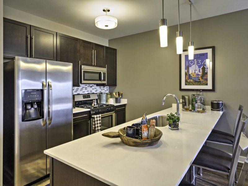 TGM NorthShore Apartments Kitchen Island 2