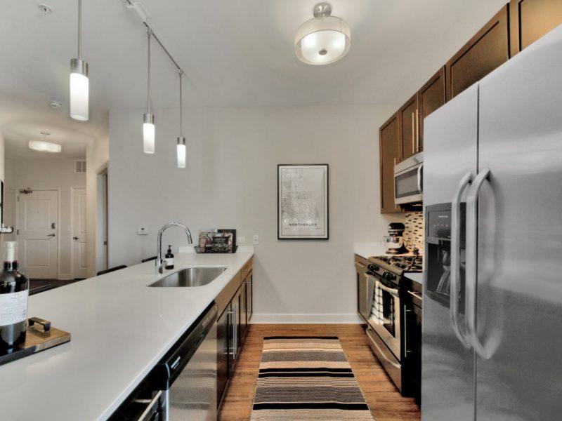 TGM NorthShore Apartments Kitchen Island 5