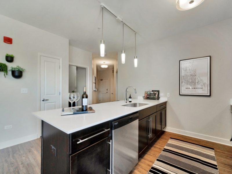 TGM NorthShore Apartments Kitchen Island 6
