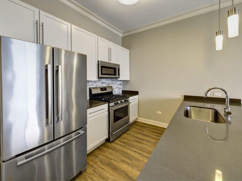 TGM NorthShore Apartments Kitchen Island