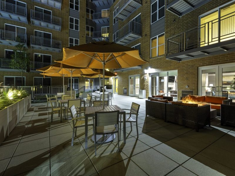 TGM NorthShore Apartments Outdoor Patio